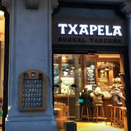 Txapela, Plaza Cataluña